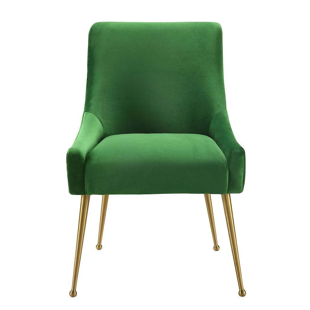 Flint Dining Chair Emerald Green Eclectic Goods Eclectic Goods