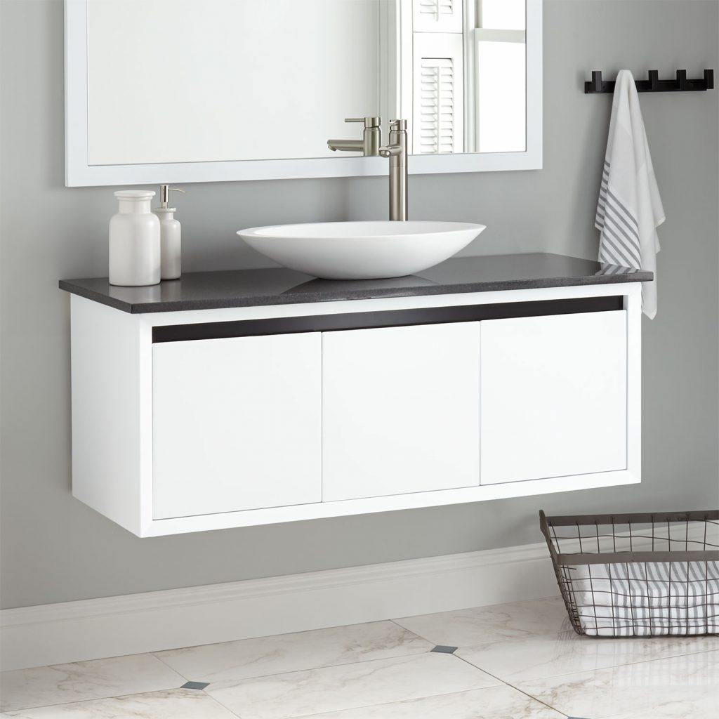 Floating Bathroom Vanity Signature Hardware