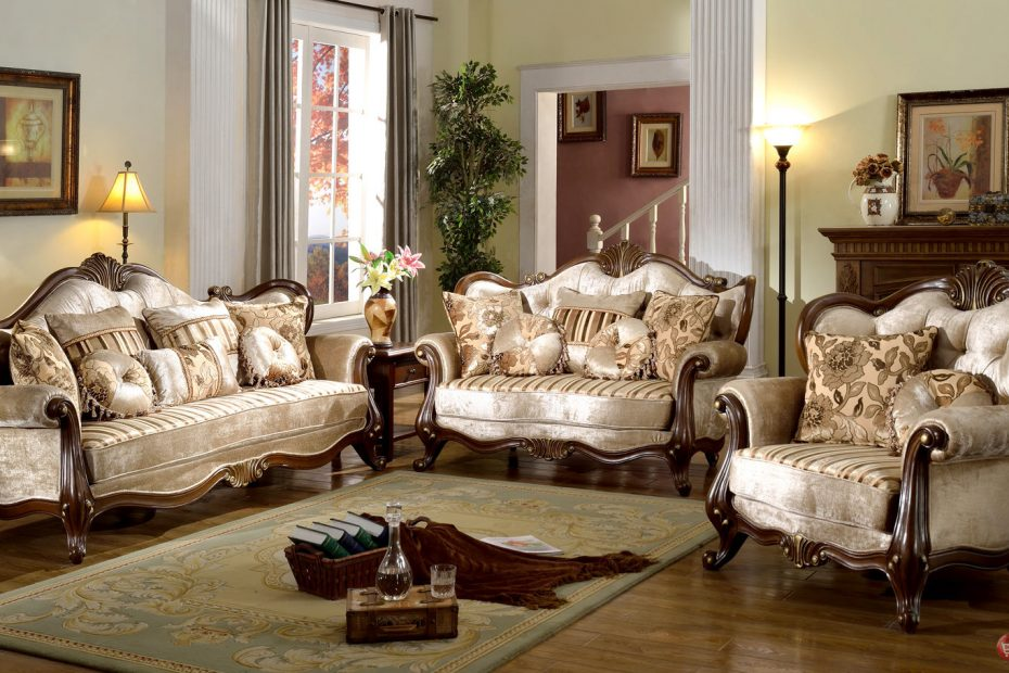 Antique Style Living Room Furniture Layjao