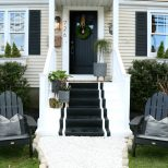 Front Porch Spring Reveal With Painted Steps Nesting With Grace