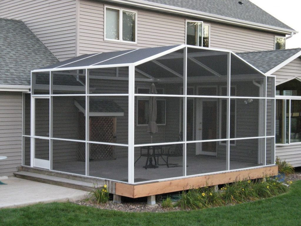 Full Porch Enclosures North Star Screen Systems Design