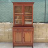 Furniture Antique China Cabinet Hutch For Your Kitchen Or Dining