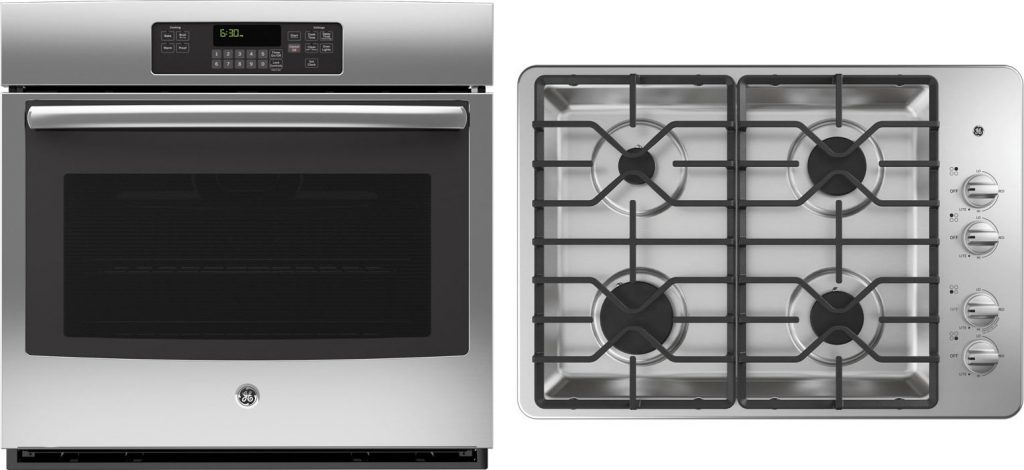 Ge Appliance Package With 30 Wall Oven 30 Gas Cooktop