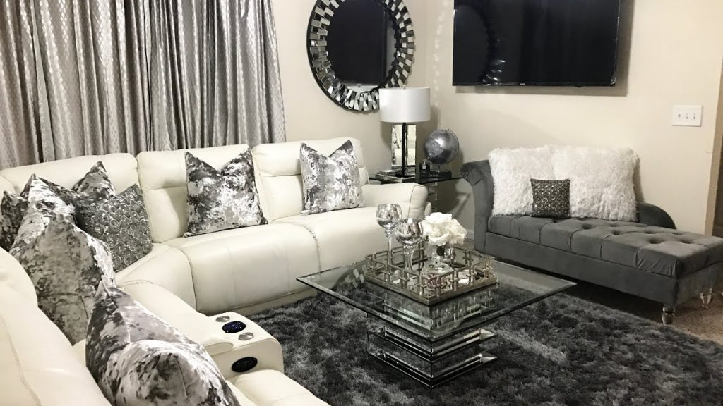 Glam Living Room Tour Home Decor Updates 2017 Lgqueen Home