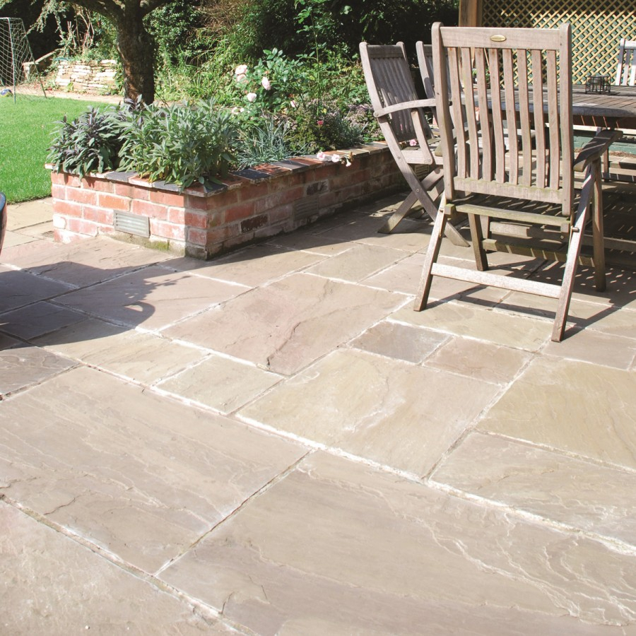 Global Stone York Green Paving Slabs Paving Superstore