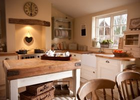 Small Cottage Kitchen Island