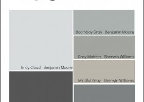 Most Popular Gray Paint Colors