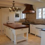French Country Kitchen Copper Hood
