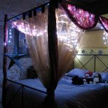 Gothic Canopy Bed Diy Sourcelysis Special Victorian Gothic