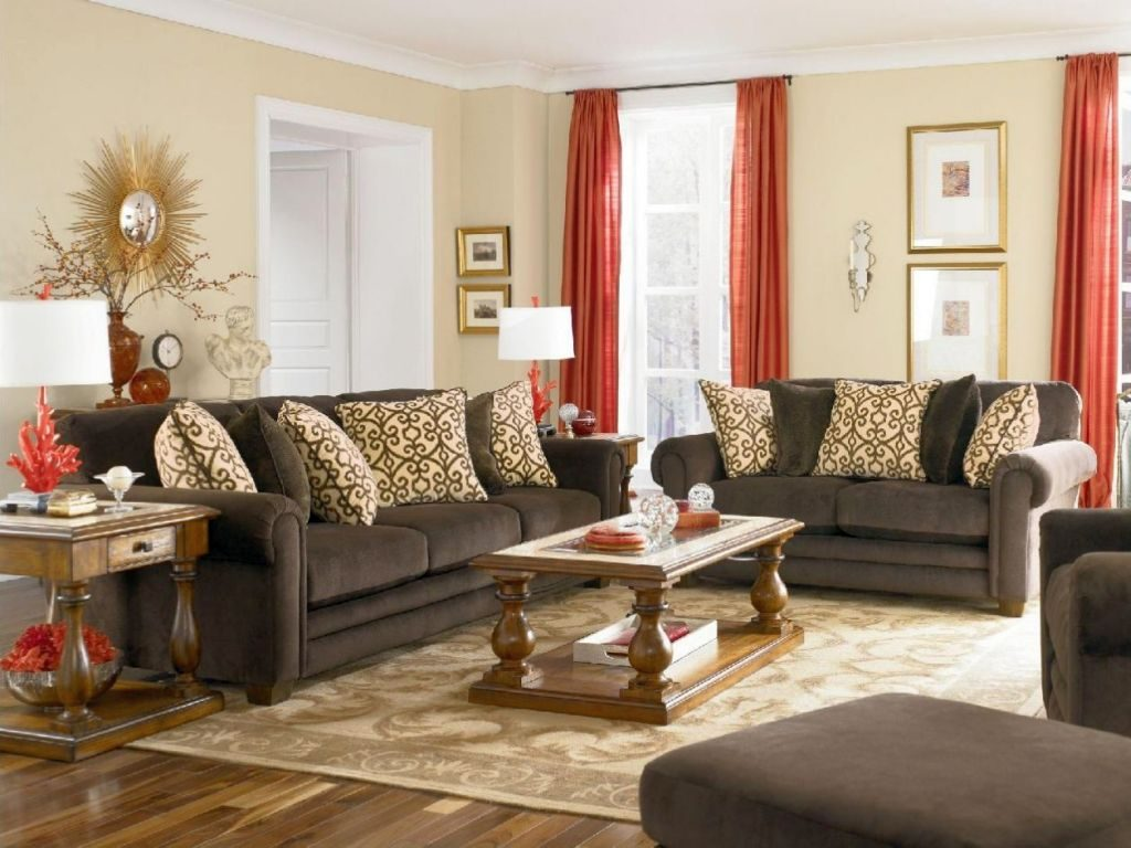 Gray And Brown Living Room Decorating Ideas Home Design Ideas