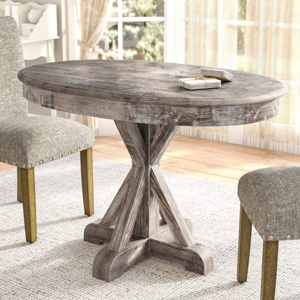 Greyleigh Maryanne Oval Dining Table Reviews Wayfair