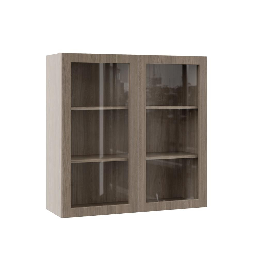 Hampton Bay Designer Series Edgeley Assembled 36x36x12 In Wall