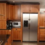 Hand Crafted Craftsman Style Kitchen In Cherry With Black Walnut