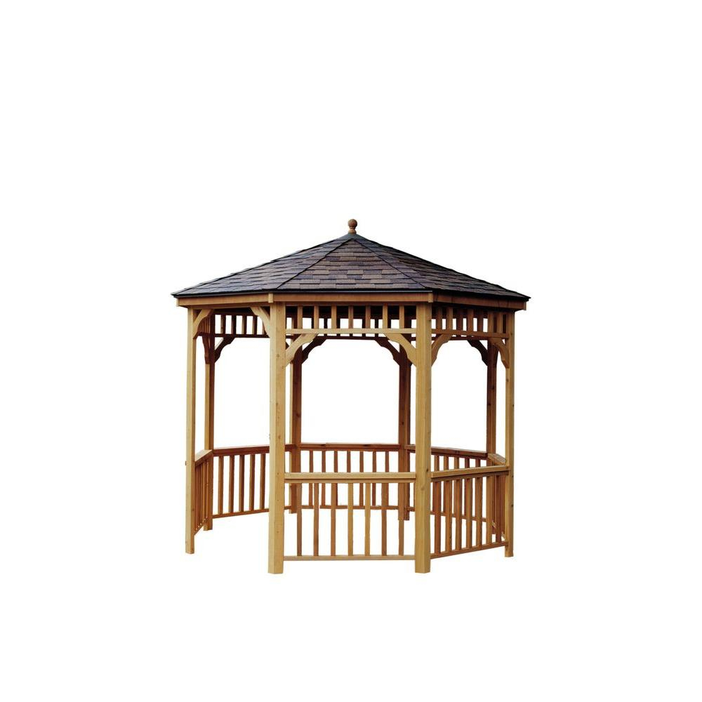 Handy Home Products San Marino 10 Round Gazebo 19944 8 Free