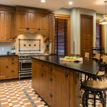 Historic Victorian Kitchen Cabinets An Important Element Of Remodel