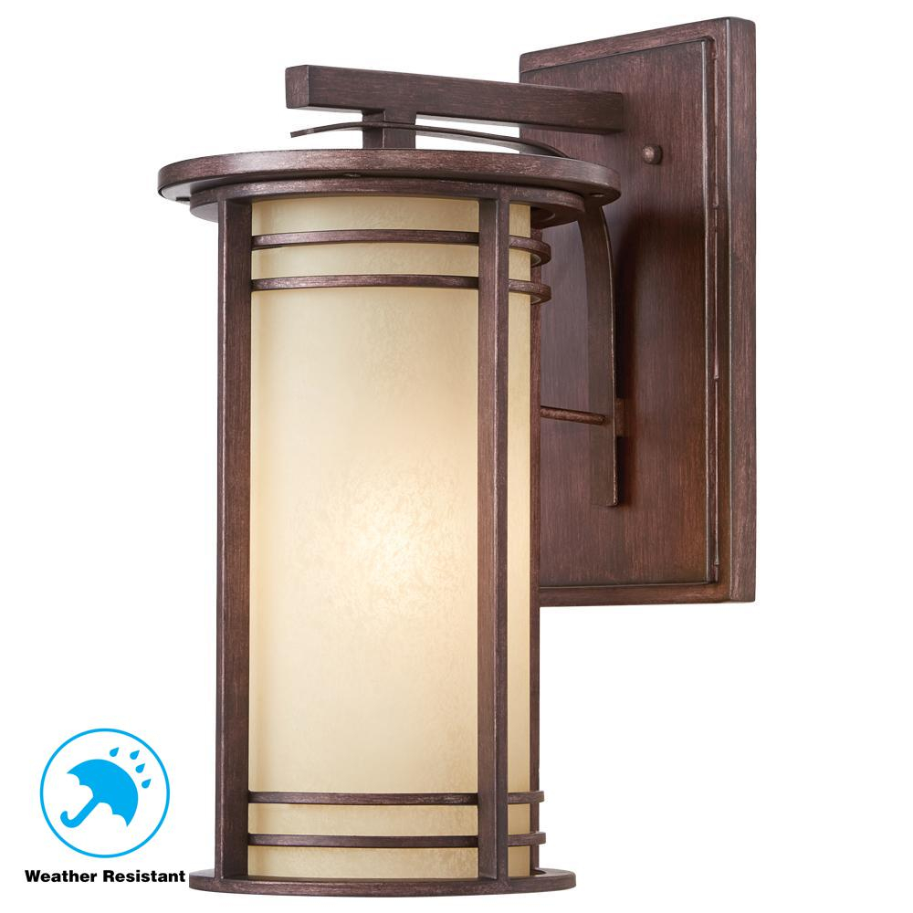 Home Decorators Collection 175 In 1 Light Bronze Outdoor Wall