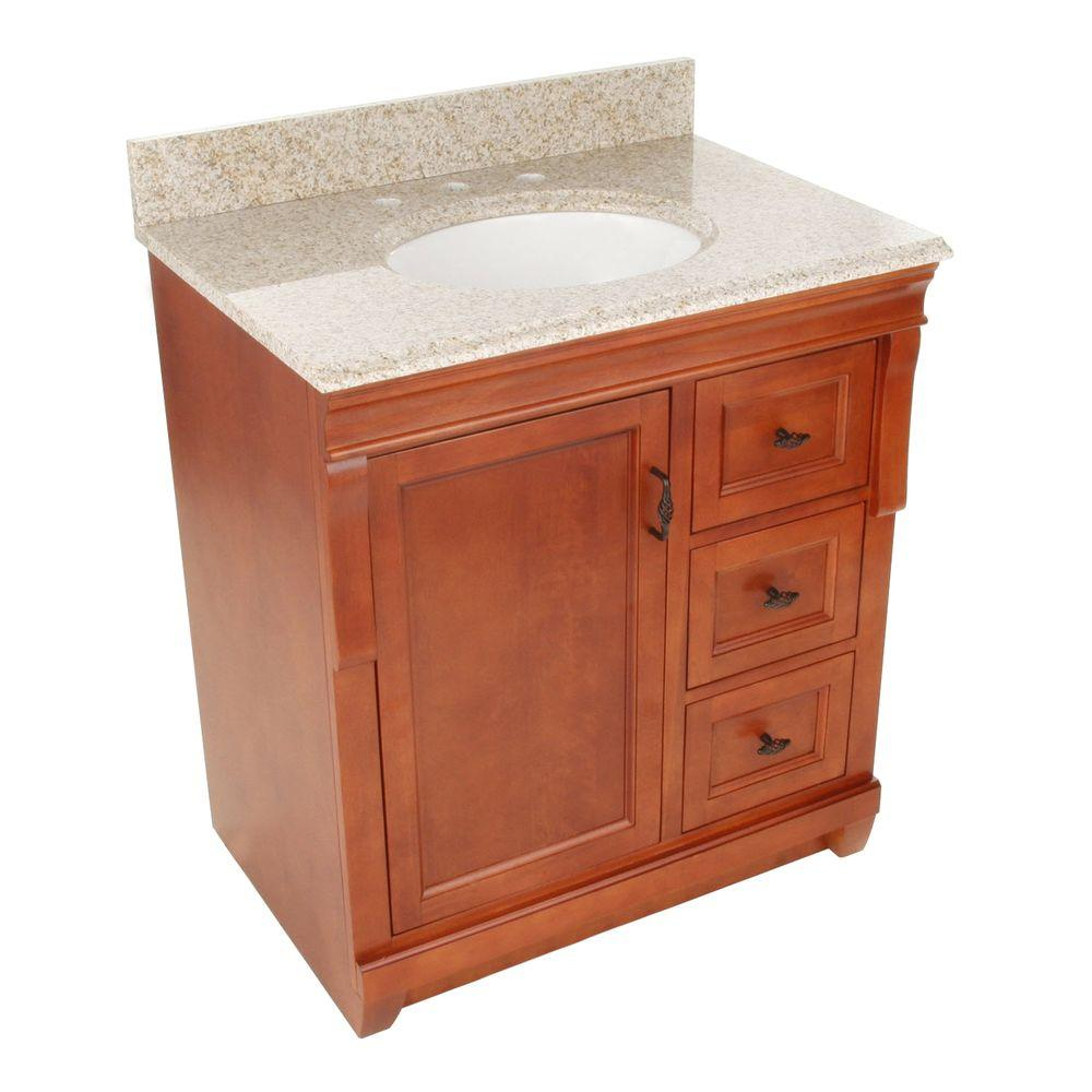 Home Decorators Collection Naples 31 In W X 22 In D Bath Vanity