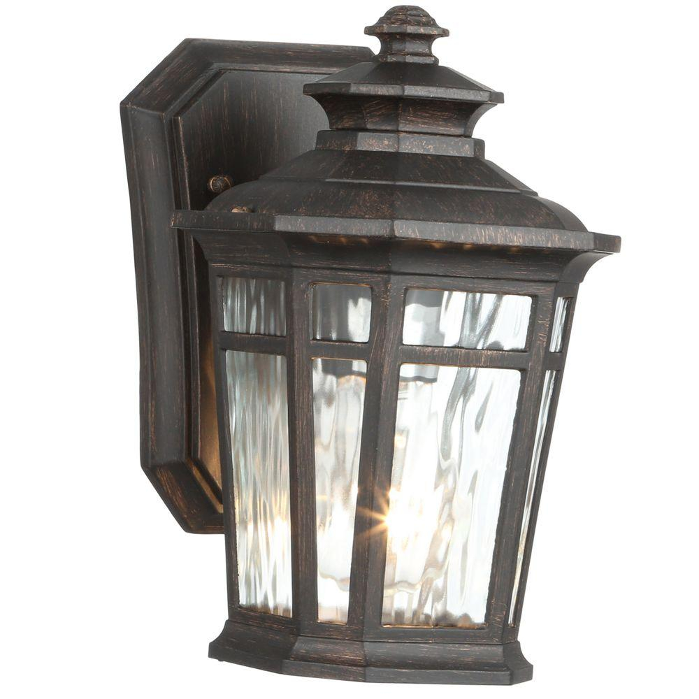 Home Decorators Collection Waterton 1 Light Dark Ridge Bronze