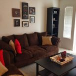 Home Design Brown And Redng Room Decorating Ideas Dapoffice Intended