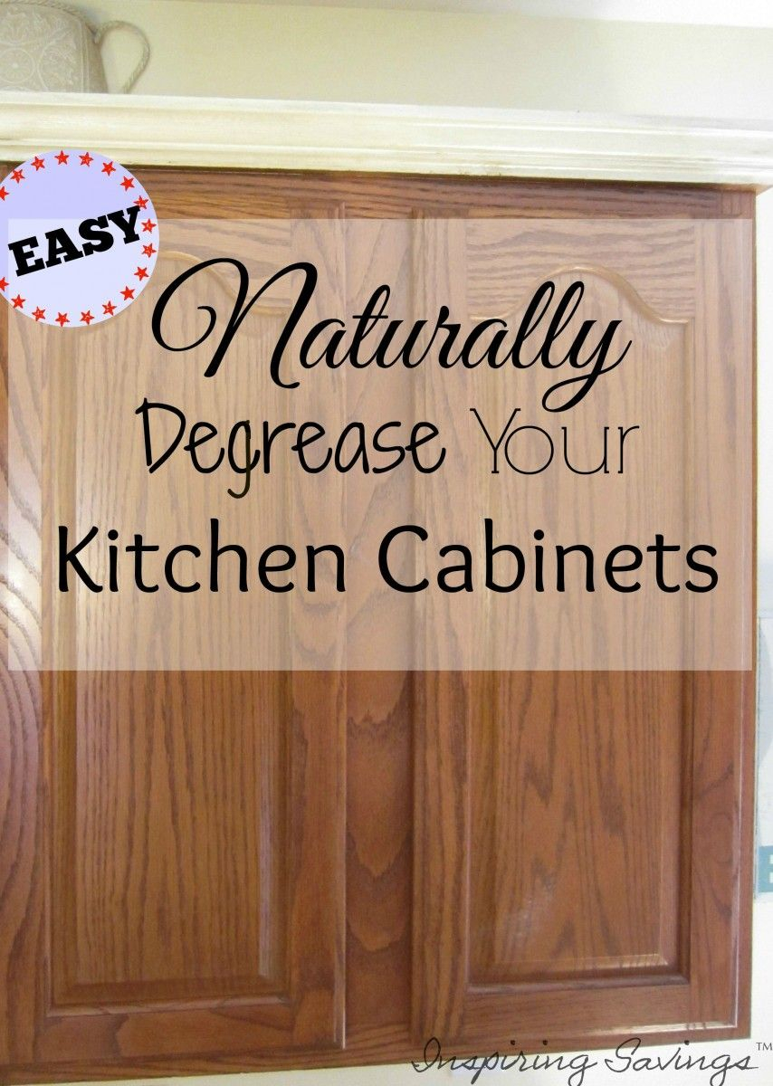 How Degrease Your Kitchen Cabinets All Naturally Home Chore Help