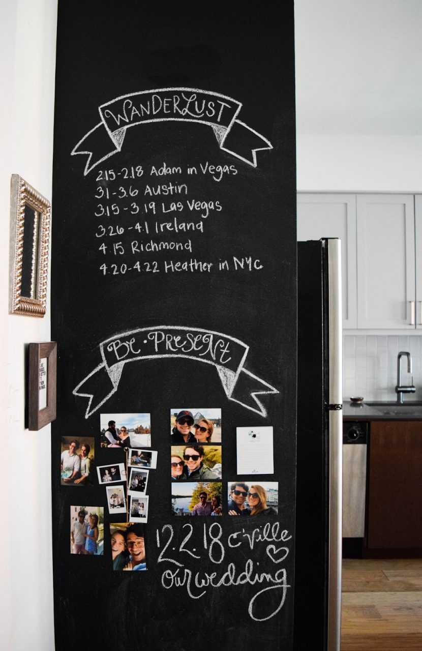 How To Design A Kitchen Chalkboard Wall Heather Bien