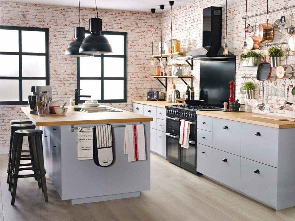How To Design An Industrial Style Kitchen Kitchen Magazine Houzz