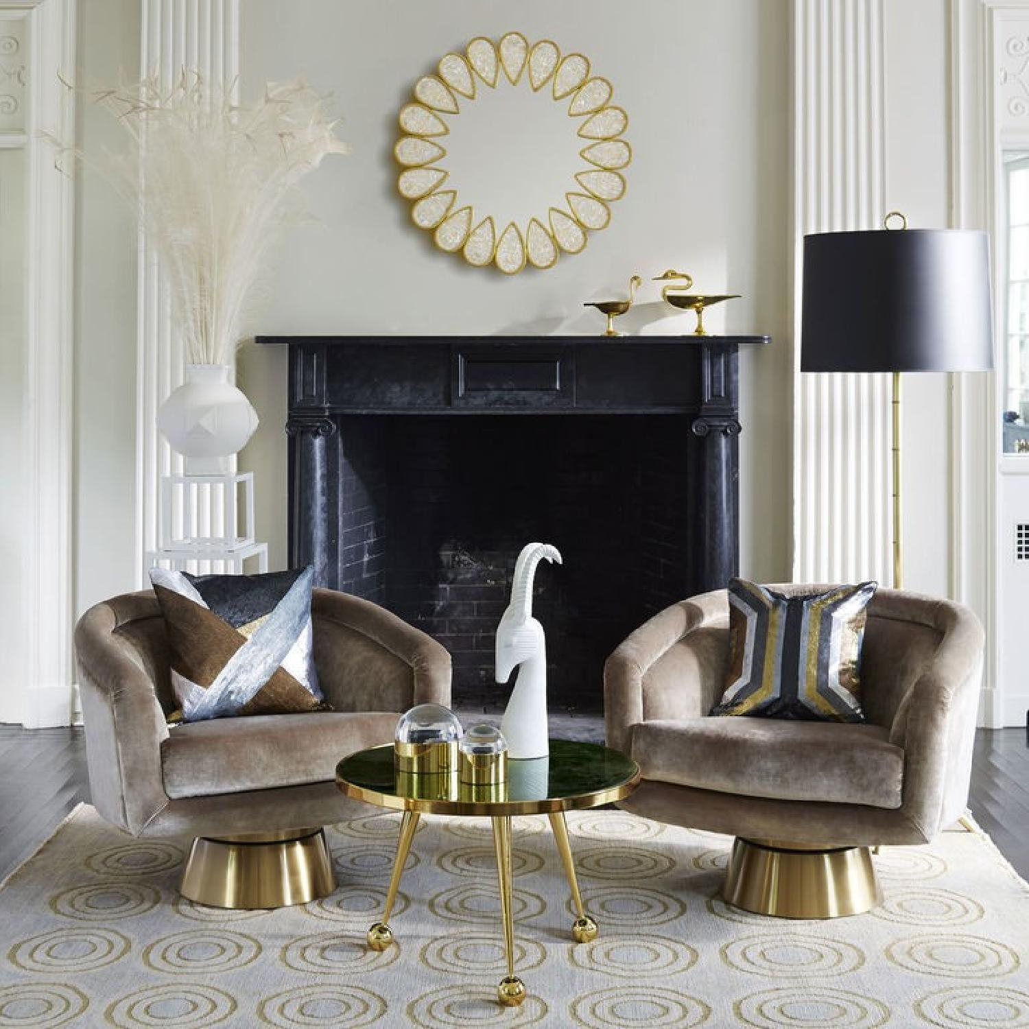How To Get A Hollywood Regency Living Room