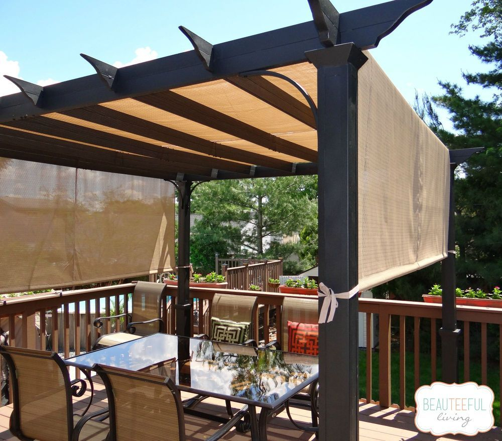 How To Make The Best Pergola For Sun Relief Diy Deck Deck With