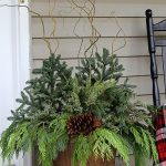 Front Porch Decorating Ideas with Flower Pots