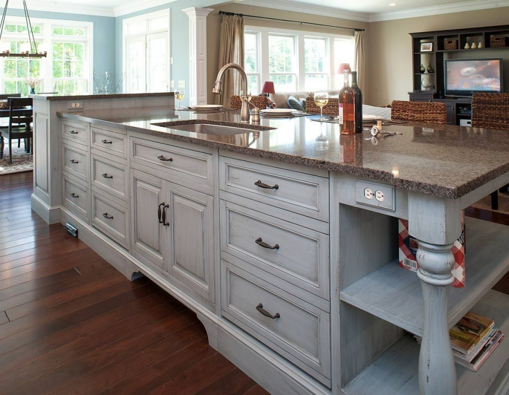 Image Of Kitchen Island Sink Size Ideas Around The House In 2019