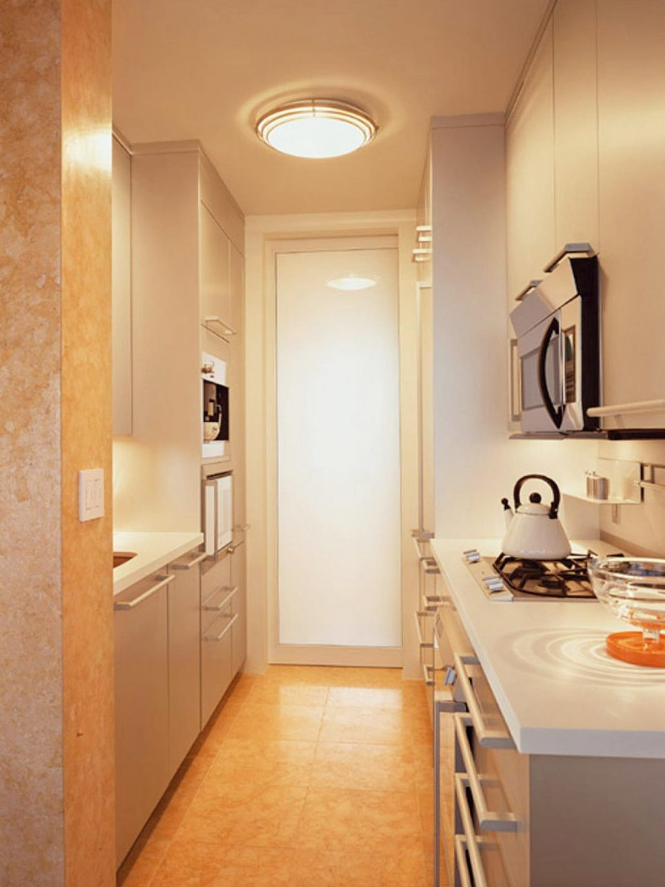 Incredible Small Galley Kitchen Layout With Small Galley Kitchen