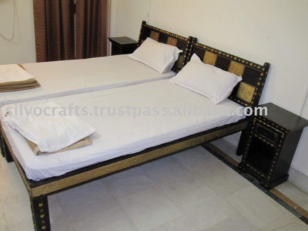 Indian Rajasthan Jodhpur Antique Old Style Hotel Room Furniture