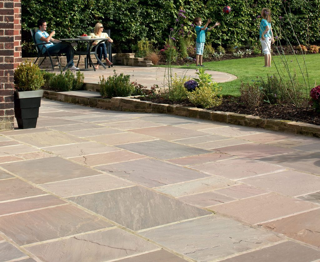 Indian Sandstone Paving Slabs Flags Marshalls