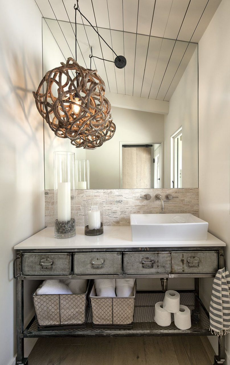 Industrial Bathroom Design Photo Andrea Cambern Llc Interior