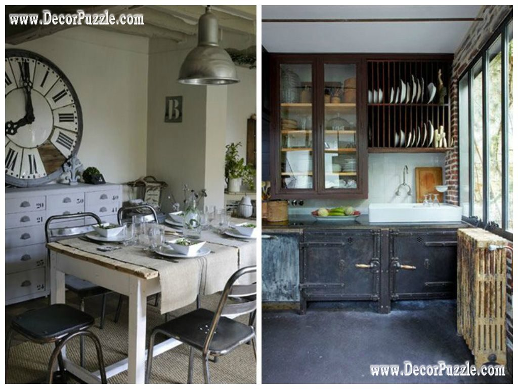 Industrial Kitchen Style Industrial Chic Decor Furniture