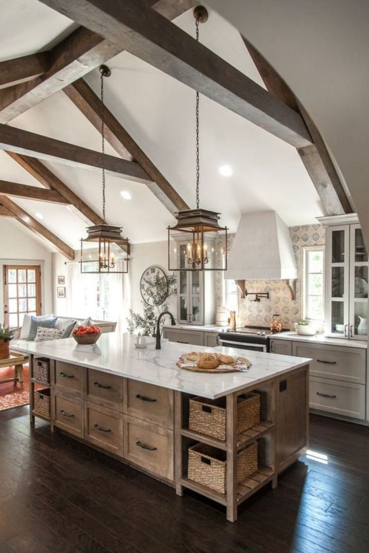 Industrial Lighting Decor Ideas In 2019 Rustic Kitchens