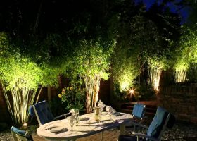 Bamboo Outdoor Garden Lights