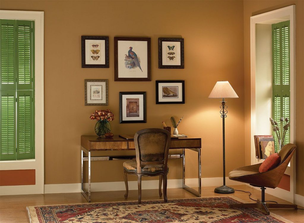 Interior Paint Ideas And Inspiration Home Office Color Inspiration