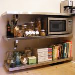 DIY Stainless Steel Shelves
