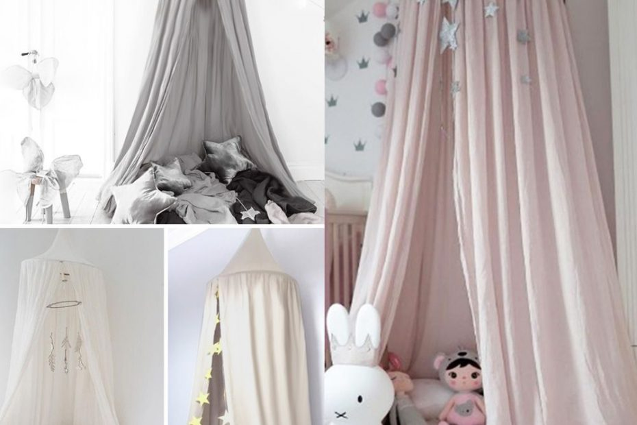 Kids Ba Bed Canopy Bedcover Mosquito Net Curtain Bedding Dome Tent