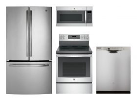 Stainless Steel Gas Kitchen Appliance Packages
