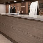 Gloss Wood Kitchen Cabinets