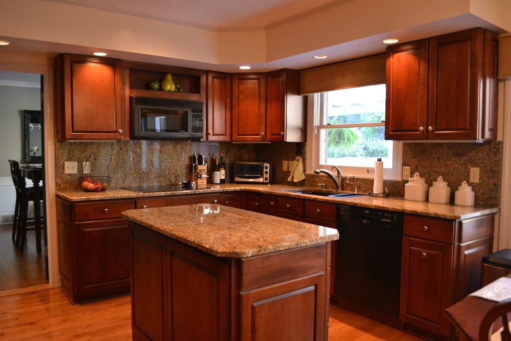 Kitchen Color Ideas With Walnut Cabinets Kitchen Cabinet Ideas