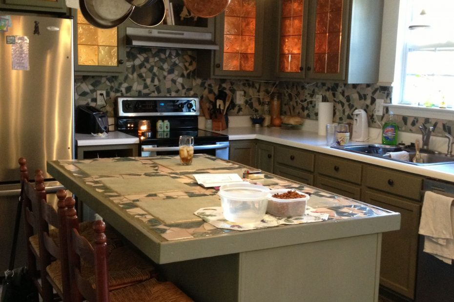Kitchen Cupboard Redo Spanish Moss Chalk Paint Paint Projects