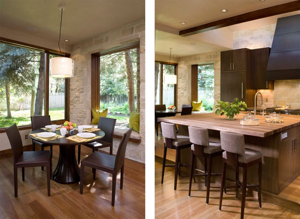 Kitchen Design And Dining Room Comfortable Matching Lighting