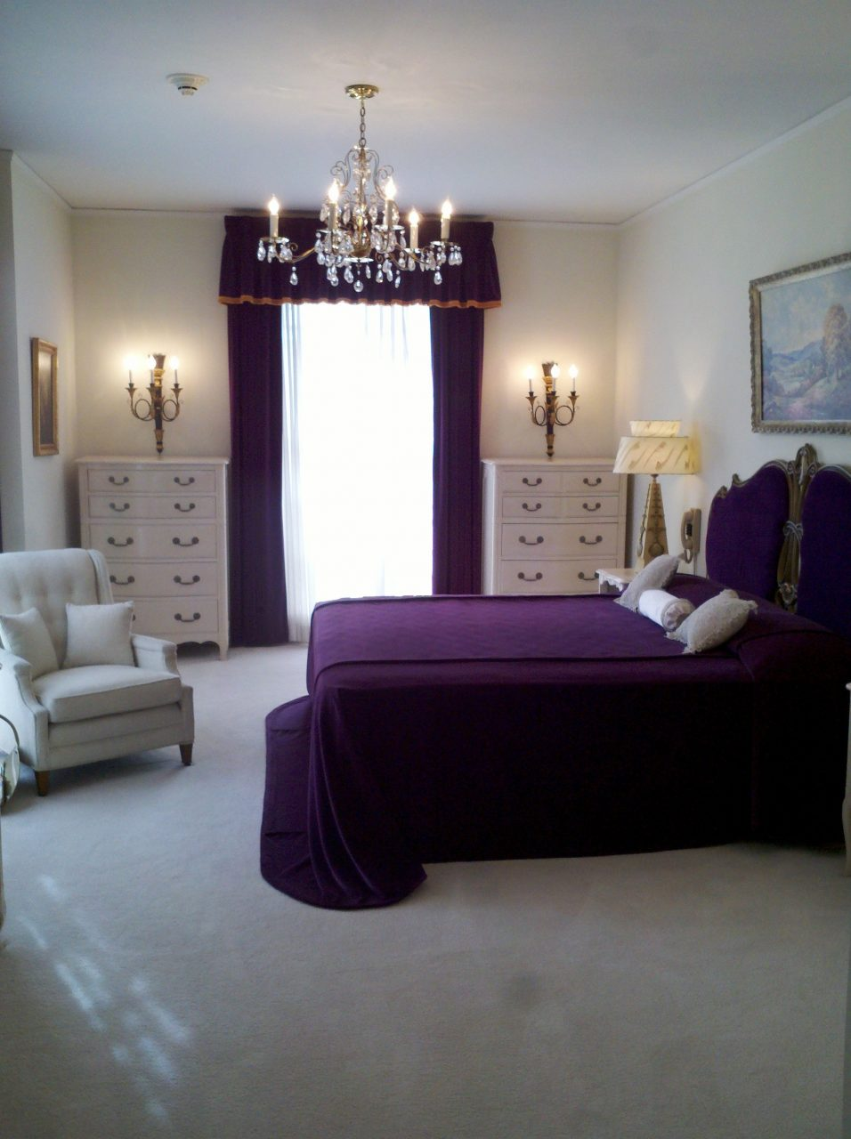 Kitchen Design Contemporary Master Purple Bedrooms Decors