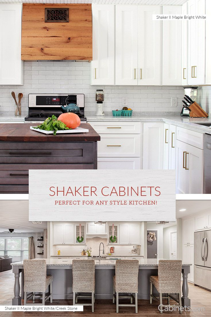 Kitchen Designs And Cabinets Walnut Shaker Cabinets Natural Cherry