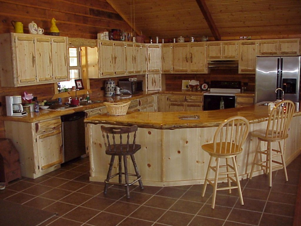 Kitchen Example Of Cabin Kitchen Ideas Small Log Cabin Kitchens