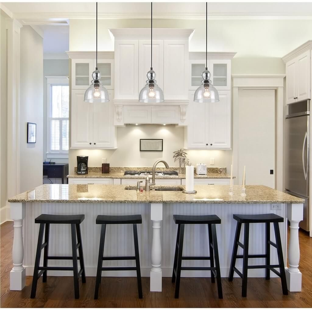 Kitchen Glass Industrial Kitchen Island Lighting Ideas Kitchen