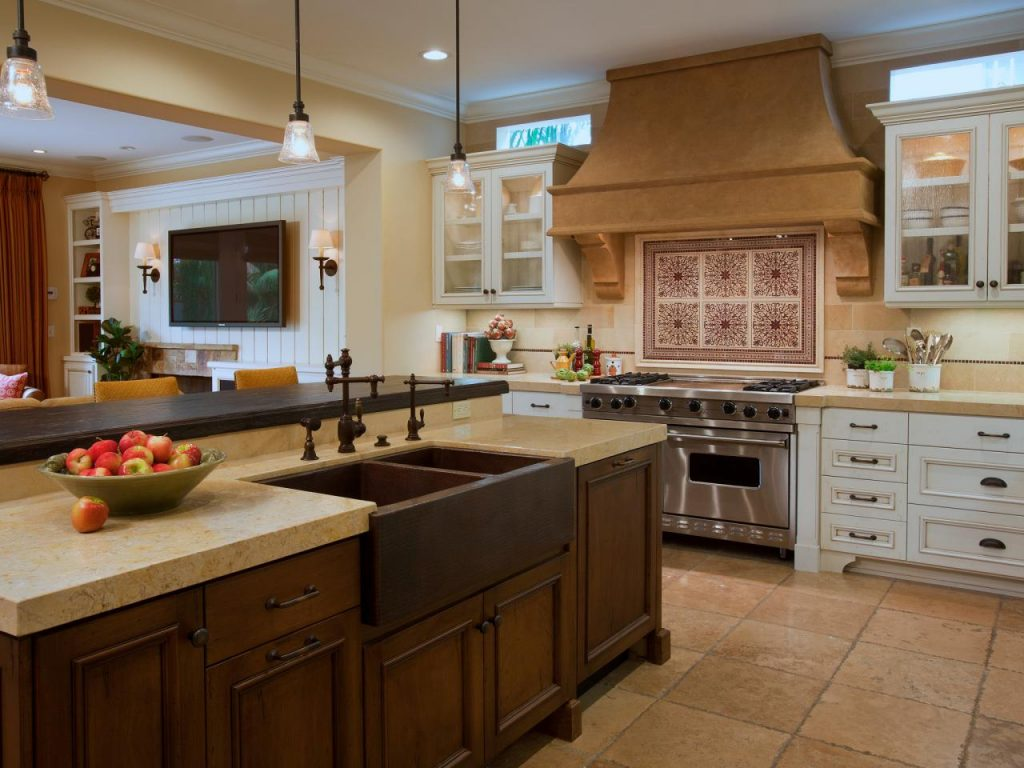 Kitchen Island With Sink Rustic The Chocolate Home Ideas Simple